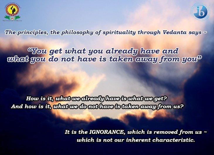 Vedanta Message