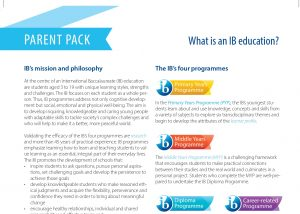 What is an IB Education?